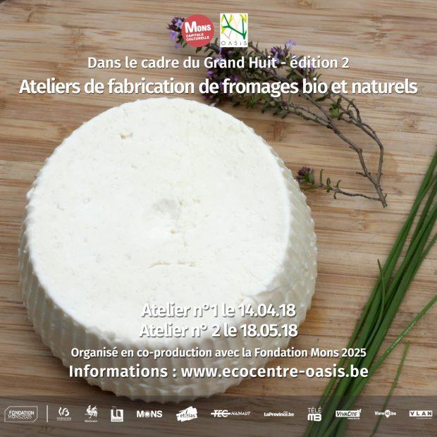 Atelier 2 de fabrication de fromages bio et naturels
