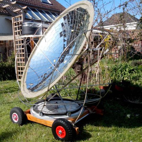 Petit repas solaire entre amis !