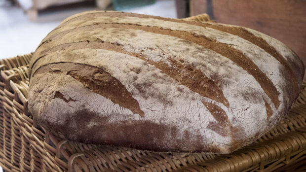 Fabrication de pain au levain
