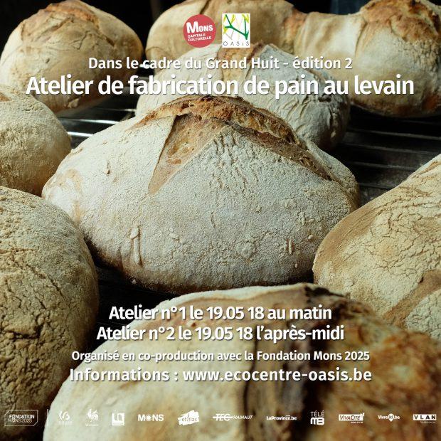 Atelier de fabrication de pain au levain I