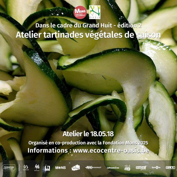 Atelier tartinades végétales de saison