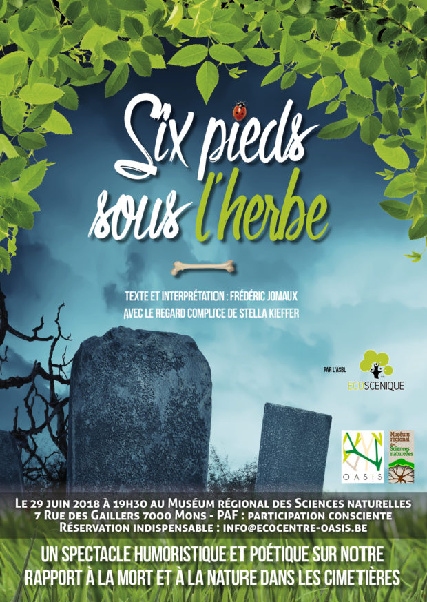 """Spectacle """"Six pieds sous l'herbe"""""""